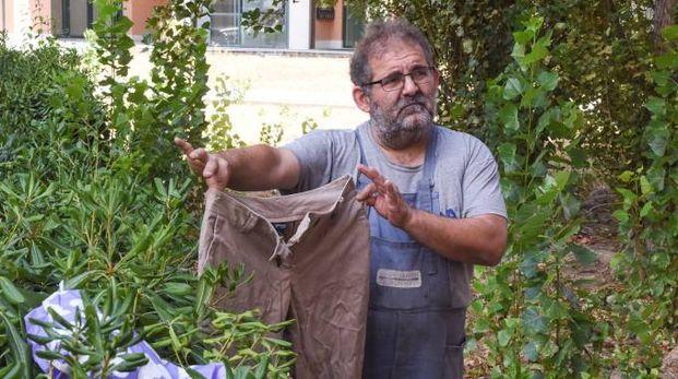 Il custode Antonio Nicoletta (foto De Marco)
