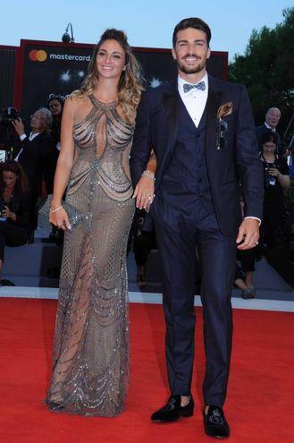 Eleonora Brunacci and Mariano Di Vaio (Lapresse)