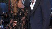 Alex Belli con Mila Suarez (Lapresse)
