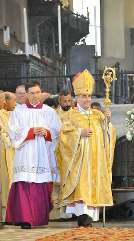 Delpini è il successore di Angelo Scola (Newpress)