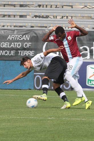 Spezia-Entella, le foto del match (LaPresse)
