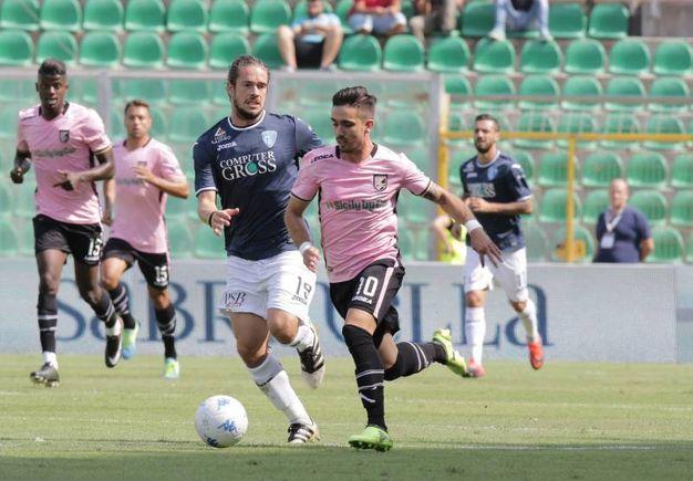 Palermo-Empoli, le foto della partita (La Presse)