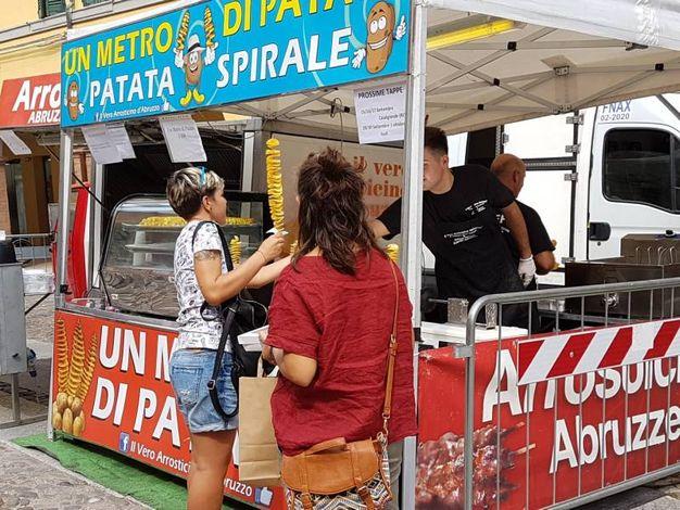 Uno dei truck del festival