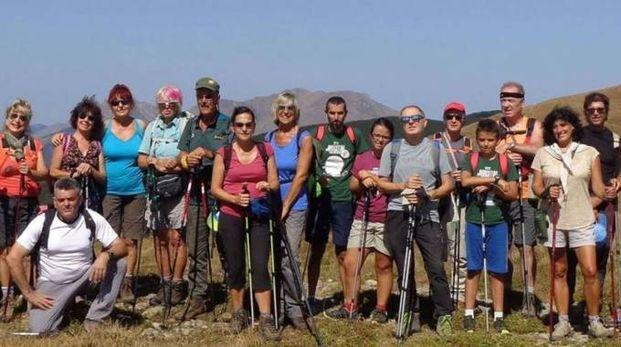 Appassionati di trekking sulle Apuane