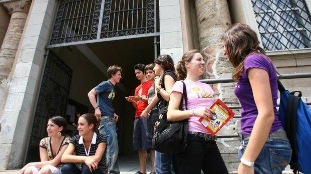 Primo giorno di scuola a Monza