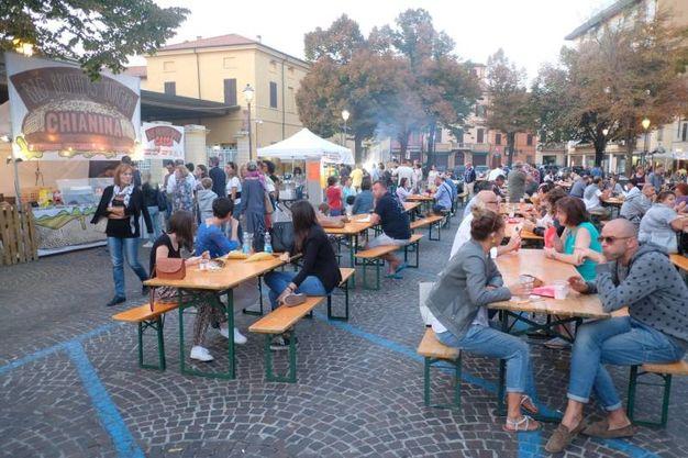 """Griglie in festa """"è stato un successone"""",  spiega Lele Roveri, organizzatore dell'evento (Foto Fantini)"""