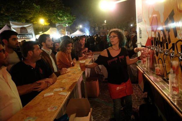 Il primo giorno sono stati stimati circa 4mila piatti serviti, con un'affluenza di circa 5mila persone (Foto Fantini)