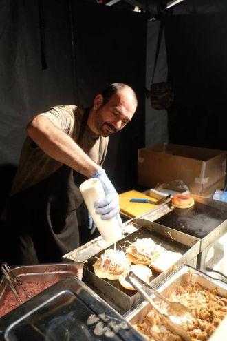E il successo  di 'Griglie in festa' lo descrive il fatto che molti stand, già alle 22, avevano finito la carne (Foto Fantini)