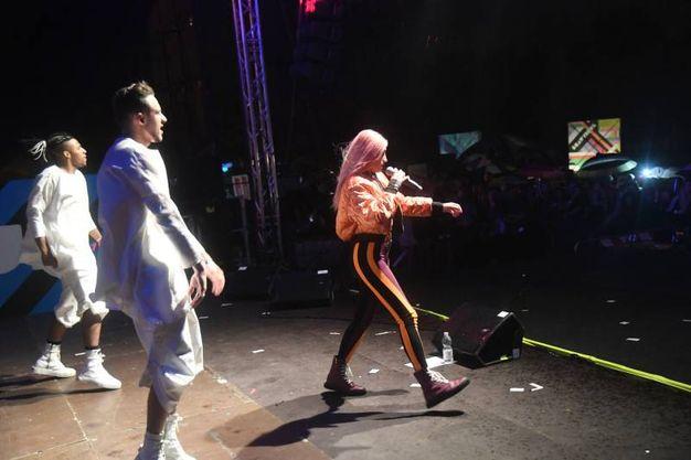 L'esibizione di Roshelle (Foto Schicchi)