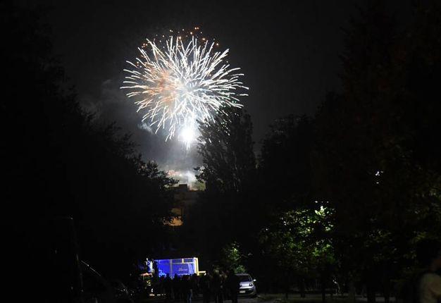 Fuochi d'artifiicio per il Beautiful Festival di Villa Angeletti (Foto Schicchi)