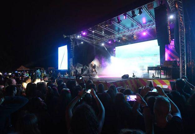 La carica dei 5mila al Beautiful Festival (Foto Schicchi)