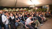 Folla di pubblico alla Festa dell'Unità di Modena per l'intervista al ministro dell'Interno Marco Minniti (Foto Fiocchi)