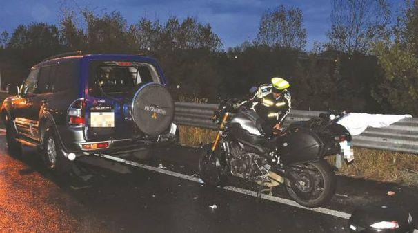 I due mezzi coinvolti nell'incidente a Mancasale (Foto Artioli)