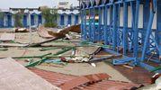 Nubifragio, danni e allagamenti a Pisa e sul litorale