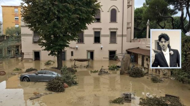 La casa della tragedia e il capofamiglia morto annegato