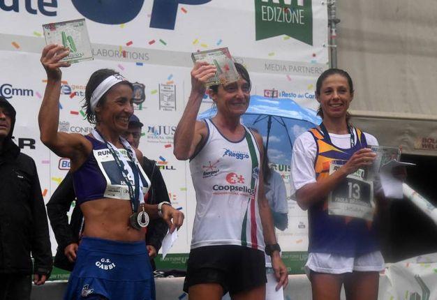 La premiazione di  Isabella Morlini  (foto Schicchi)