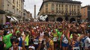 Il centro è stato invaso da 4mila runner (foto Schicchi)