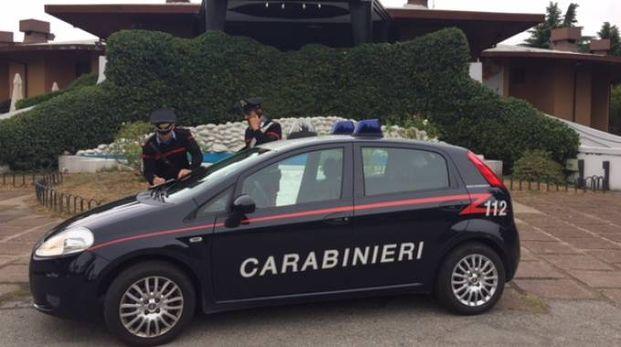 I carabinieri in azione a Le Rotonde di Garlasco