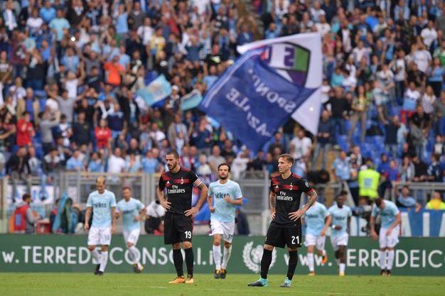 Lazio-Milan (LaPresse)