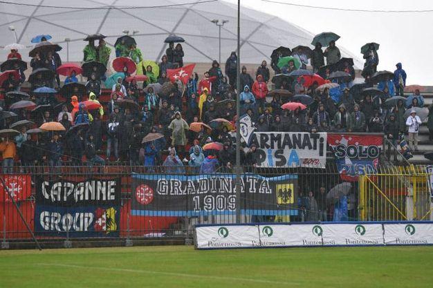 Monza-Pisa (foto LaPresse)