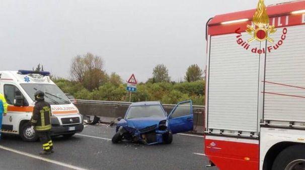 L'incidente sulla FiPiLi a Cascina