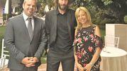 Con Paola Batani e Denis Magalotti al Grand Hotel da Vinci di Cesenatico