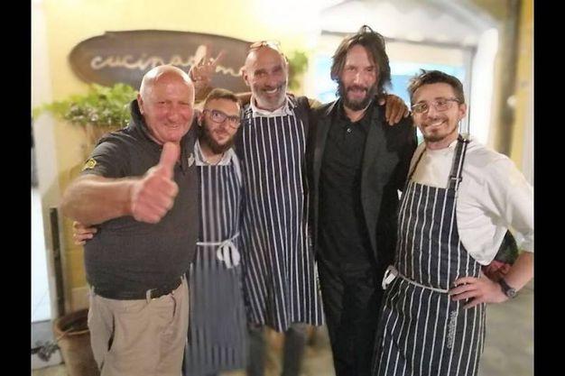 Con lo staff di Cucinadimare