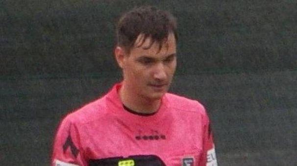 L'arbitro Alexei Mardari della sezione di Modena