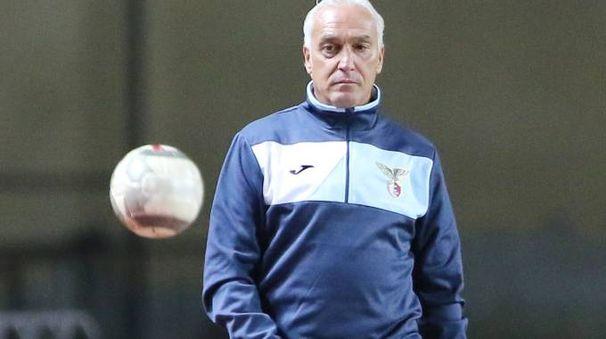 Agatino Cuttone, allenatore del Fano (Fotoprint)