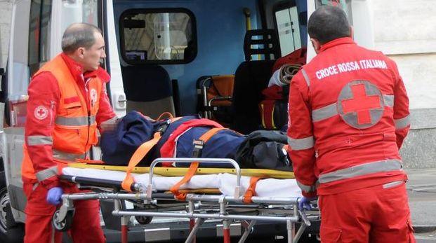 È stato necessario l'intervento dell'ambulanza