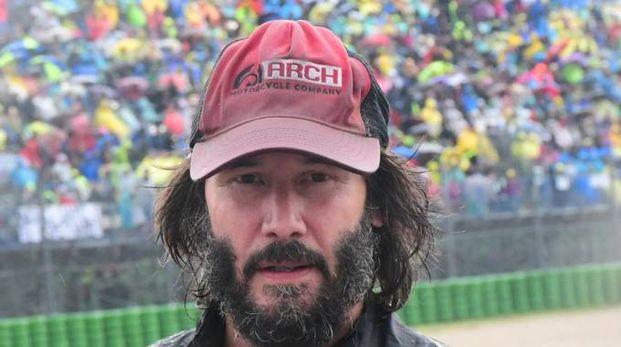 Keanu Reeves a Misano (foto Petrangeli)