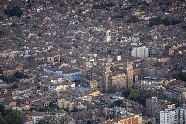 Ferrara dall'alto (foto Businesspress)