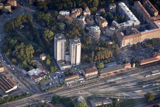 La zona Gad vista dall'alto (foto Businesspress)