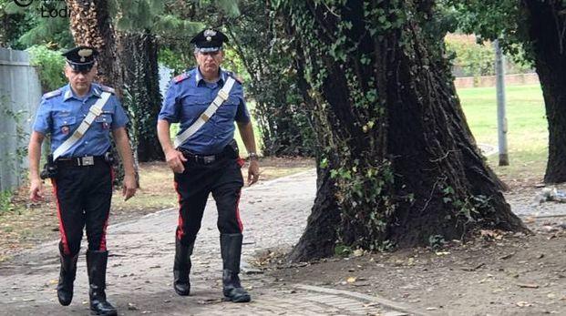 Carabinieri al presidio nel parco di via Fascetti