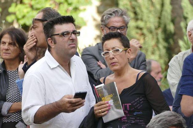 Matteo Renzi presenta il suo libro a Prato (Foto Attalmi)