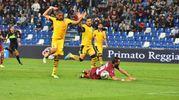 Il derby si è giocato al Mapei Stadium (foto Artioli)