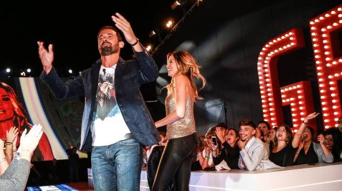 Aida Yespica e Gianluca Impastato (La Presse)