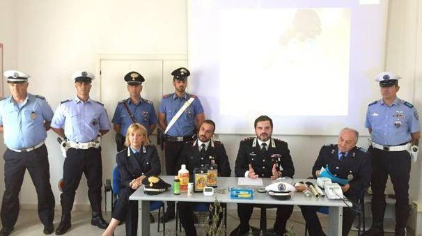 L'operazione è stata effettuata dai carabinieri e dalla polizia municipale dell'Unione Rubicone e Mare