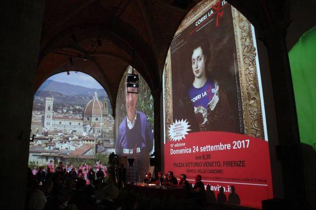La presentazione di Corri la vita 2017 (Foto New Press Photo)