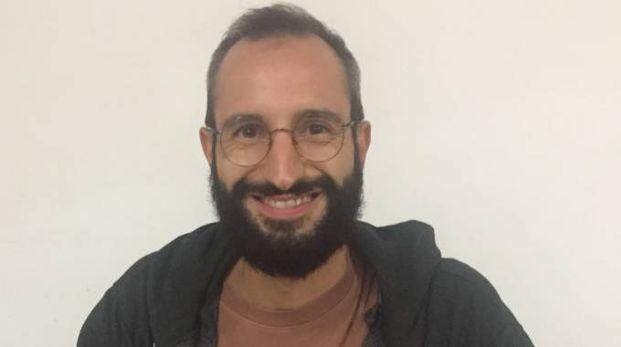 Michele Alessandrini, tra gli organizzatori dell'iniziativa di protesta