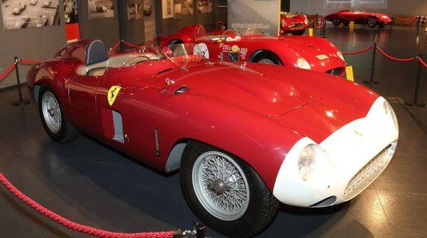 La 857 esposta al Museo Checco Costa in autodromo