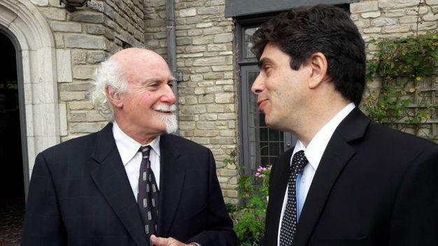 Da sinistra, MIchael Weisskopf e Sebastiano Rotella