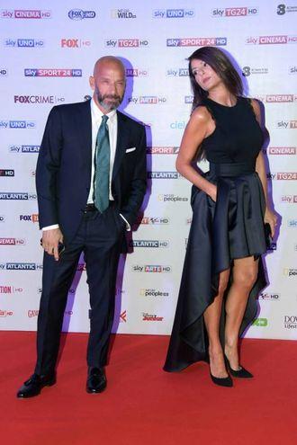Gianluca Vialli e Ilaria D'Amico - Lapresse