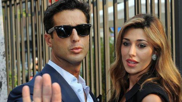 Fabrizio Corona e Belen Rodriguez (Ansa)