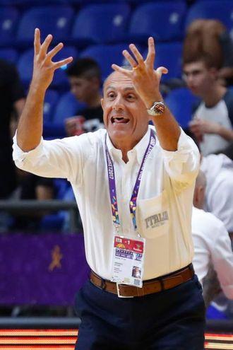 Ettore Messina (Afp)