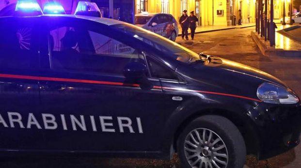 I carabinieri durante i controlli del territorio