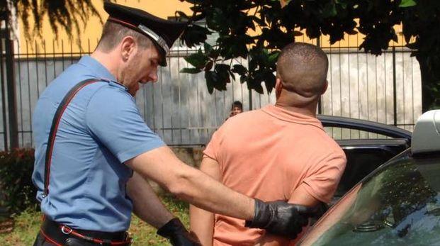 L'uomo è stato fermato dai carabinieri (foto d'archivio)