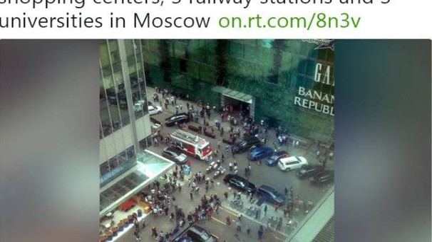 Mosca, allarmi bomba a raffica
