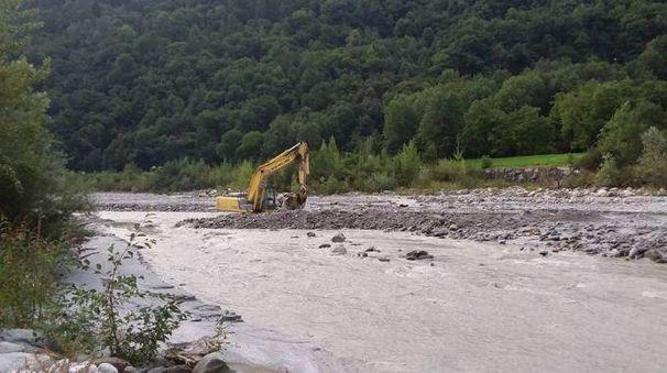 I problemi maggiori in Valchiavenna per il fiume Mera