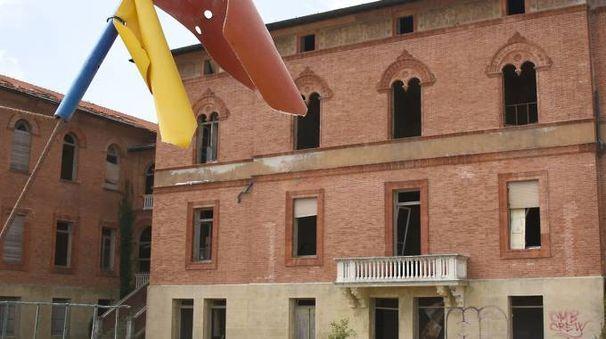 L'ex colonia (foto Manuel Migliorni)